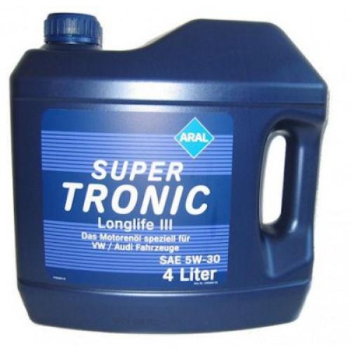 Синтетическое моторное масло Aral SuperTronic Longlife III 5W-30 4л (1л, 20л)