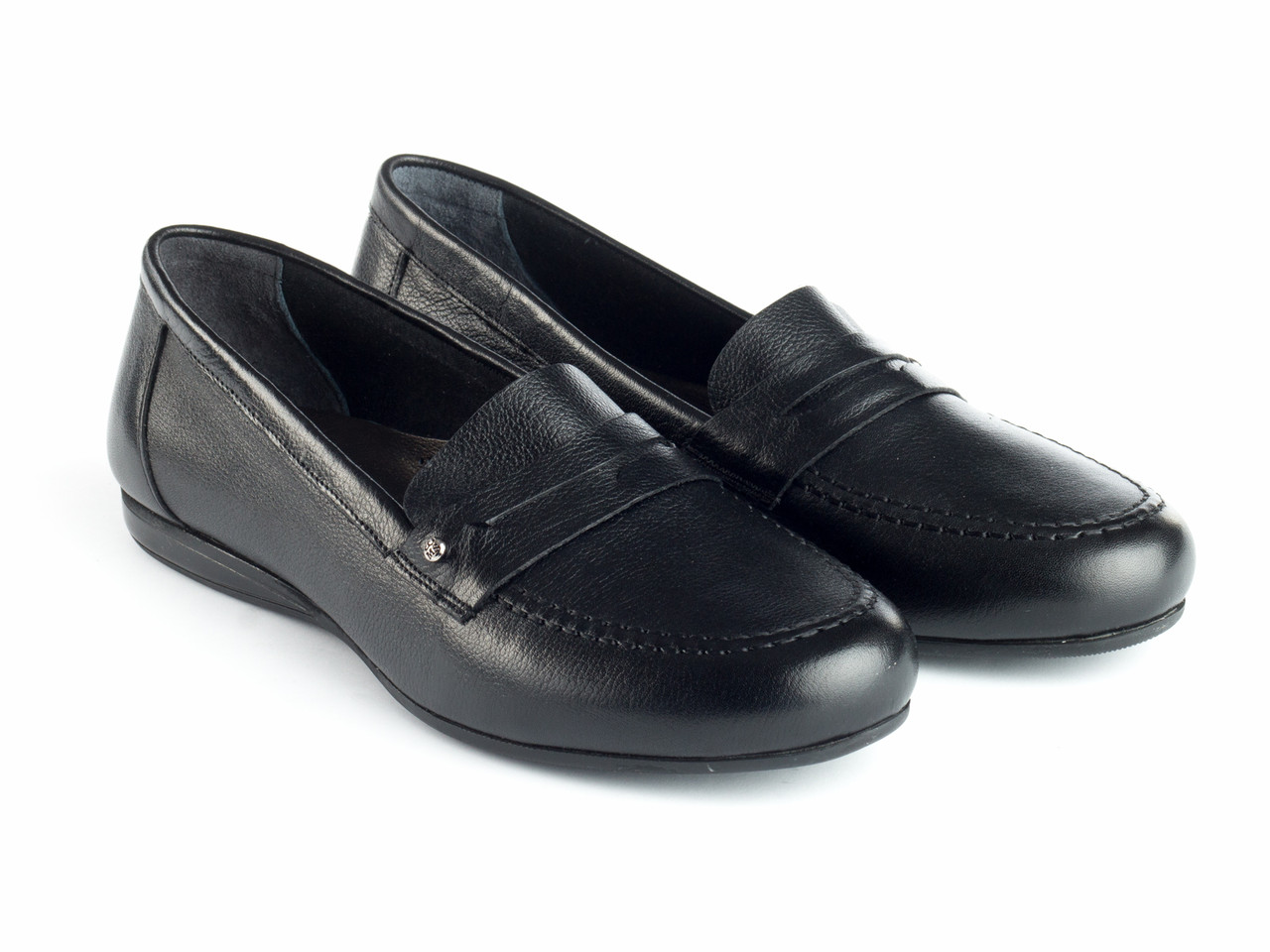 Мокасины Etor 6478-3010-1 черные