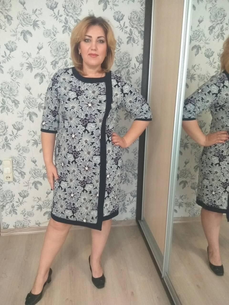 Платье Selta 753 размеры 58, 60, 62, 64
