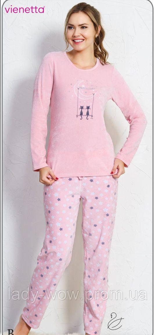 342026d249f Велюровый костюм женский Vienetta Secret Размер М - Интернет-магазин  женского нижнего белья