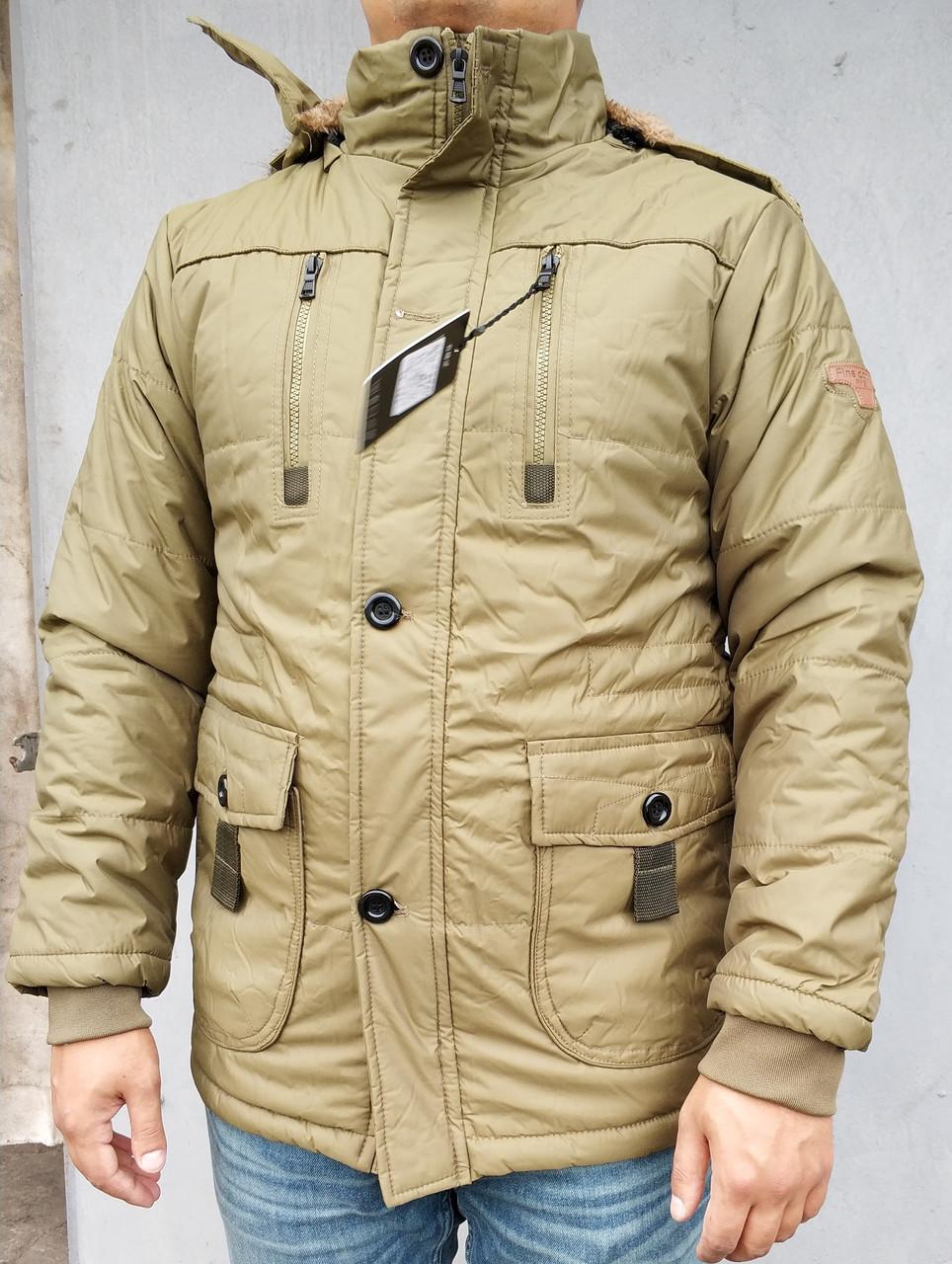 Куртка зимняя олива