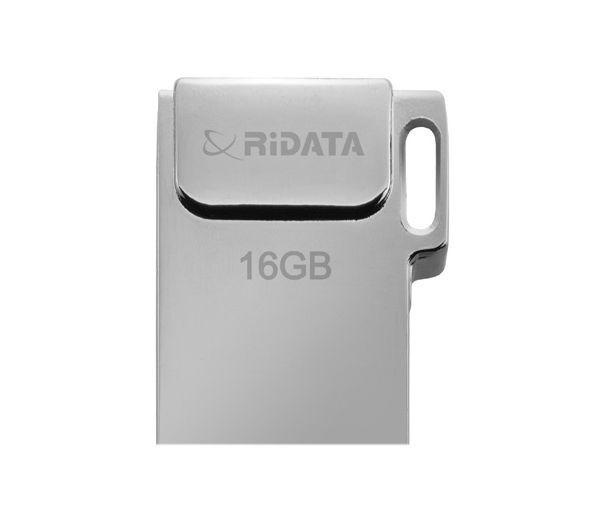 Флеш-драйв RIDATA USB Drive BRIGHT 16GB Metal SD10