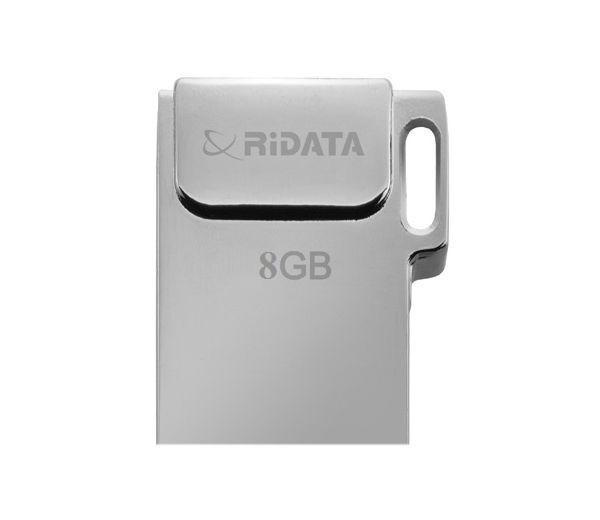 Флеш-драйв RIDATA USB Drive BRIGHT 8GB Metal SD10