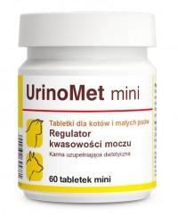 """Таблетки при захворюваннях сечовивідних шляхів у собак і кішок """"UrinoMet mini"""" 60табл., Dolfos™"""