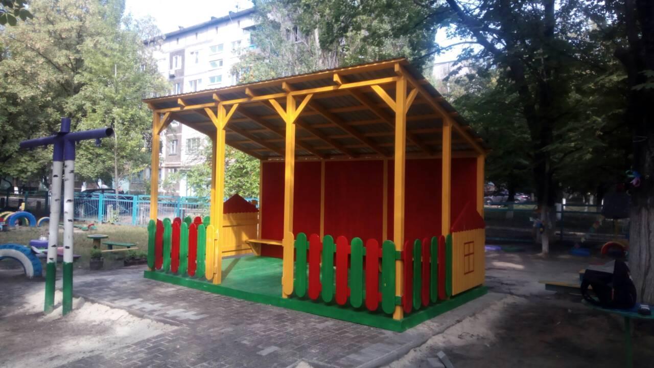 Павильон игровой для детской площадки