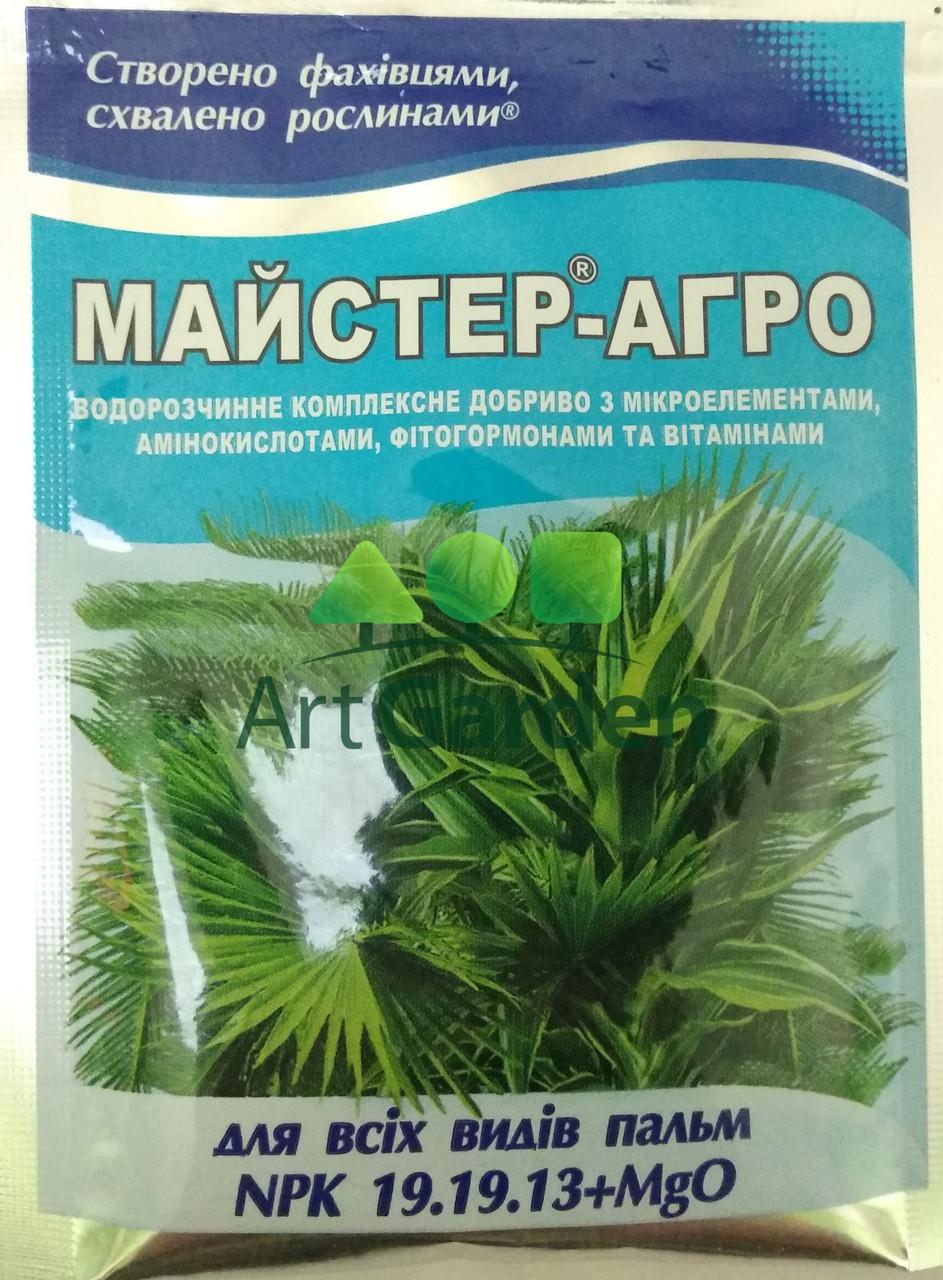 Майстер-Агро для пальм (NPK 19.19.13+MgO) 25 г