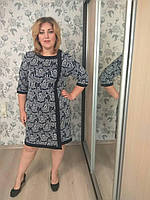 Платье Selta 753 размеры 58, 60, 62, 64 розы 1
