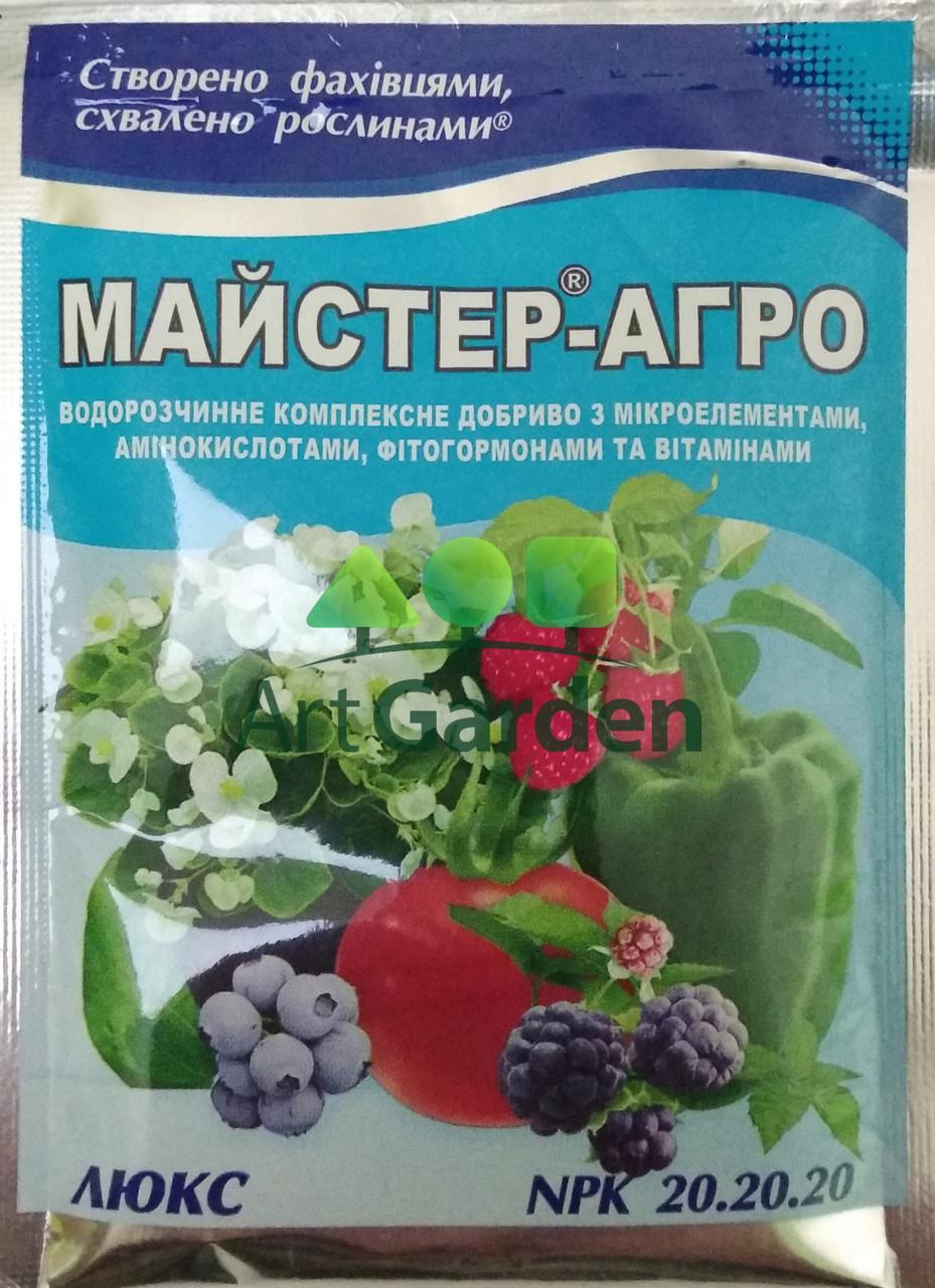Мастер-Агро Люкс (NPK 20.20.20) 25 г