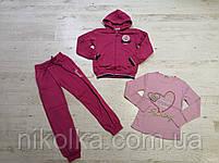 Трикотажный костюм-тройка с начесом для девочек оптом, Crossfire, 134-164 рр., арт.CJ-1541, фото 4