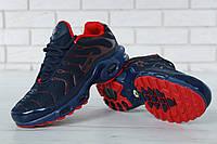 """Кроссовки мужские Nike Air Max 95 TN Plus Blue/Red """"Синие"""" р. 41-45, фото 1"""
