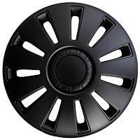 R15 Колпаки на колеса диски для дисков R15 черные блэк колпак K0404
