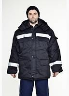 Куртка рабочая утепленная  на двойном синтепоне