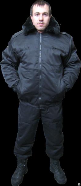 Куртка утепленная Пилот, куртка зимняя для охранника
