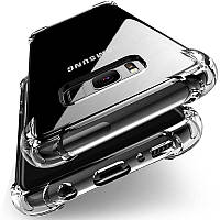 Прозрачный чехол - бампер на смартфон Samsung J5 Prime 2017