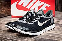 Кроссовки мужские Nike Free Run 3.0, черные (2606-3),  [  43 44  ]