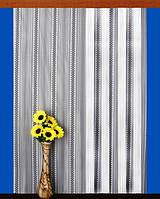 """Гардинное полотно """"Украинские мотивы"""" (белый), высота 300 см"""