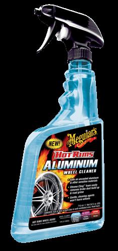 Meguiar's Hot Rims Aluminum Wheel Cleaner  Очиститель для алюминиевых дисков 709 мл