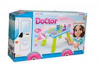 Набор  Малыш доктор  (столик с инструментами, 36 шт)