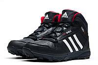 Зимние кроссовки в стиле Adidas Terrex Fastshell, темно-синий (3205-2),  [  44 (последняя пара)  ]