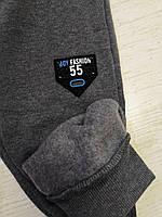 Спортивные брюки с начесом для мальчиков оптом, Sincere, 98-128 рр., арт. LL-2380, фото 6