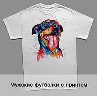 Мужские футболки с принтом