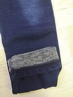 Лосины джинсовые на меху для девочек оптом, Sincere,134-164 рр.,арт.LL-2459, фото 4