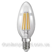Лампа Светодиодная филаментная свеча   NX6СF - E14  3000k/4200k