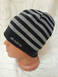 "Мужская шапка на флисе  ""Slide"" RS2-5006"