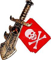 """Набор """"Пиратский крюк"""" бандама с кинжалом"""