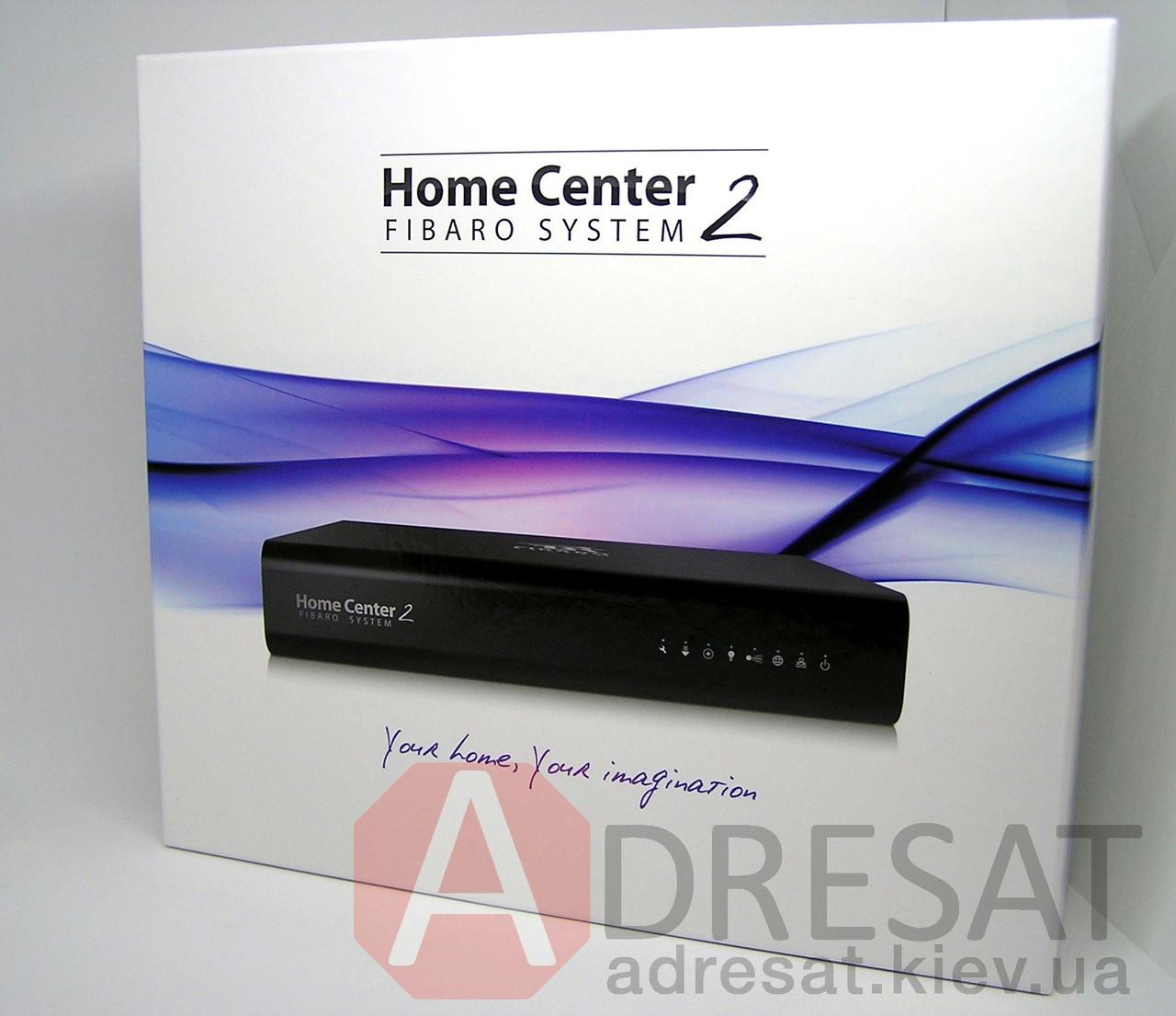 FGHC2 BLACK FIBARO Home Center 2, Z-Wave контролер чорний