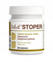 "Таблетки для лечения острой диареи у кошек и собак ""Dolvit Stoper"" 30табл., Dolfos™"