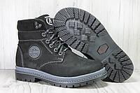 Зимние подростковые высокие ботинки натуральный нубук Alexandro, фото 1