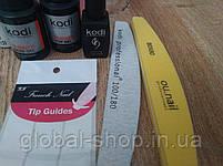 Стартовый набор для наращивания ногтей Kodi (41 предмет) 2 вида геля на выбор, фото 3