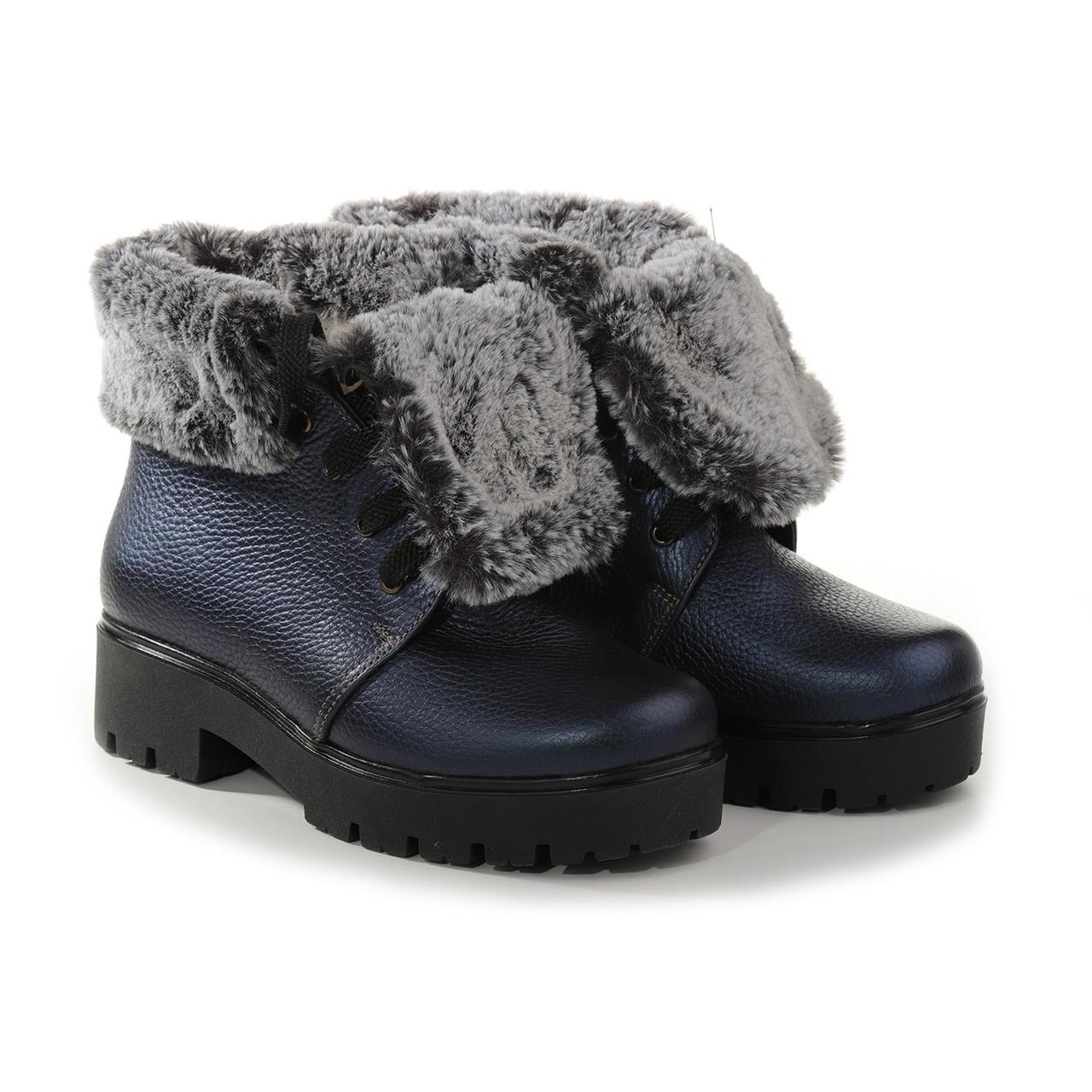 VM-Villomi Синие ботинки с мехом на зиму