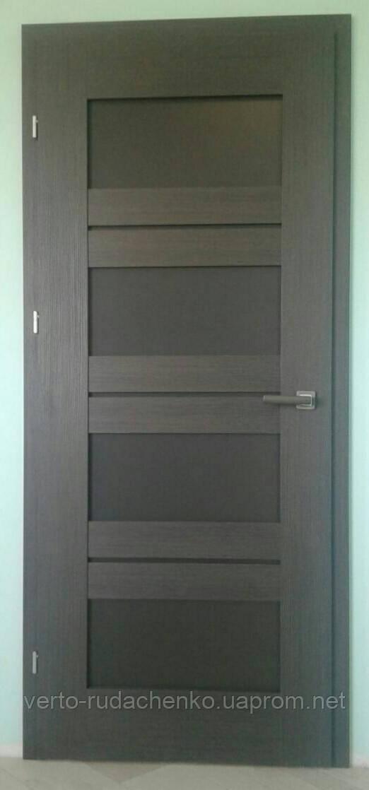 """Двери Verto Лада-Концепт 4.4 в цвете Кора дуб """"LINE 3D"""""""