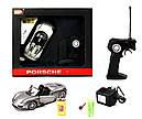 Машинка р/у 1:24 Meizhi лиценз. Porsche 918 металлическая (серый), фото 7