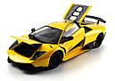 Машинка р/у 1:18 Meizhi лиценз. Lamborghini LP670-4 SV металлическая (желтый), фото 2
