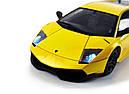 Машинка р/у 1:18 Meizhi лиценз. Lamborghini LP670-4 SV металлическая (желтый), фото 7