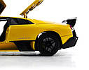 Машинка р/у 1:18 Meizhi лиценз. Lamborghini LP670-4 SV металлическая (желтый), фото 9