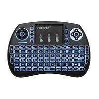 Беспроводная мини-клавиатура Ipazz Port с подстветкой, фото 1