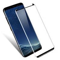 Защитное стекло Full cover Full Bonding 3D Glass для Samsung Galaxy Note 8  Black