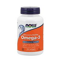 NOW Омега 3 Omega-3 (100 softgels)
