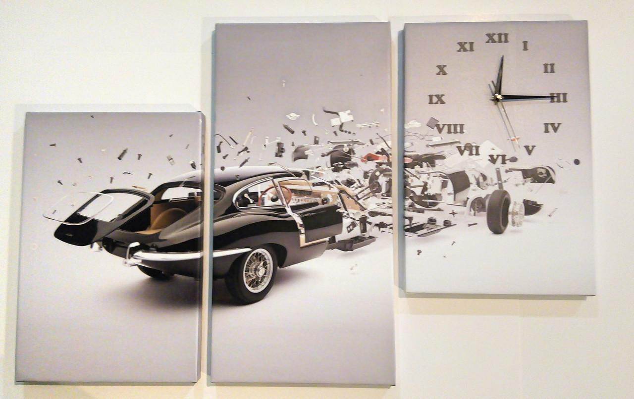 Фотокартина на холсте автомобиль 90х60