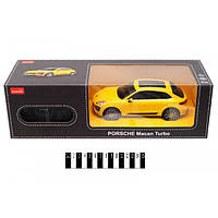 Машина PORSCHE Macan Turbo, масштаб 1:24, машинка на радиоуправлении Rastar, порше растар