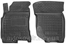 Полиуретановые передние коврики в салон Nissan X-Trail (T30) 2001-2007 (AVTO-GUMM)
