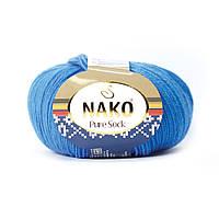 Nako Pure Sock (Нако Пуре Сок) 70% - шерсть супервош, 30% - полиамид 1256