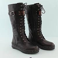 Черные зимние сапоги подростковые Bi&Ki размер 33,35