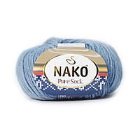 Nako Pure Sock (Нако Пуре Сок) 70% - шерсть супервош, 30% - полиамид 1986