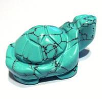 Черепаха из бирюзы