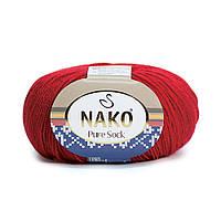 Nako Pure Sock (Нако Пуре Сок) 70% - шерсть супервош, 30% - полиамид 3217